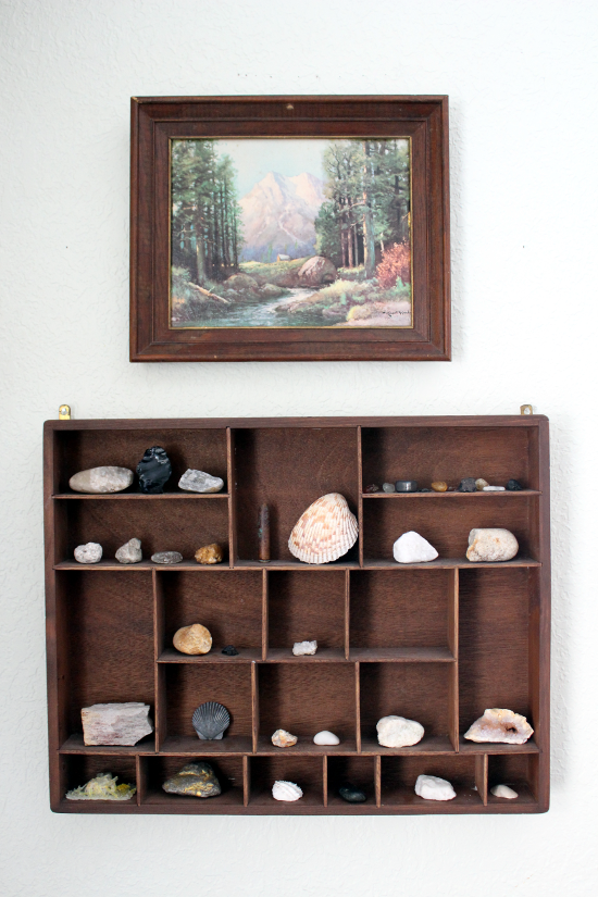 Displaying a Rock Collection