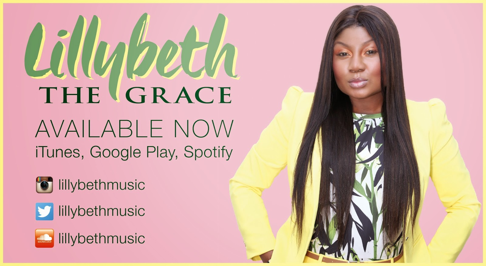 GOSPEL: MUSIC/VIDEO: Lillybeth - The Grace + Studio Session.