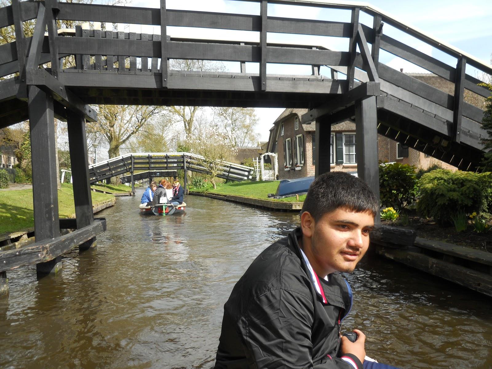 Álex en Holanda