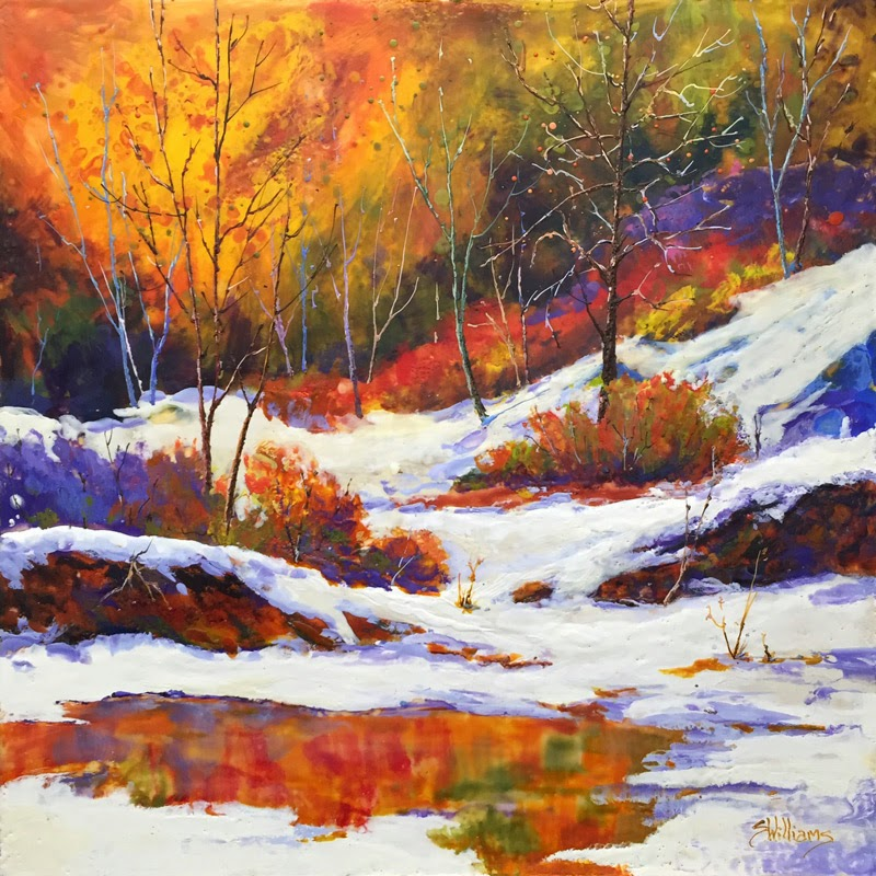 Sharon lynn williams 39 art blog more colours of winter for Sharon williams paint