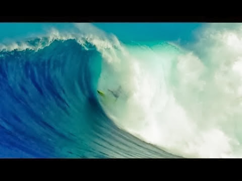 Nakoa Decoite at Jaws Hawaii - Worst Wipeout Nominee - Surfer Poll 2013