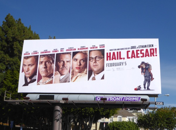 Hail Caesar movie billboard