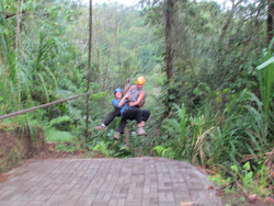 Tandem Carry, for the newly wary (canopy cover ziplining)