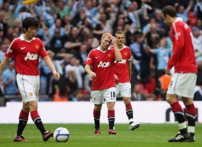 manchester united FA Cup semifinal park scholes vidic berbatov