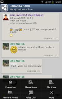 Catfiz Aplikasi Chatting Android dari Indonesia