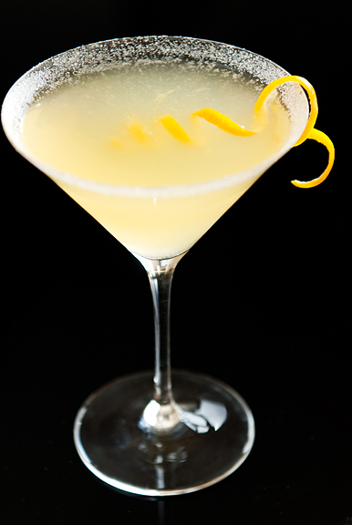 Diary of the Unexpected Housewife: TCB and a Lemon Drop Martini