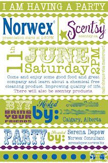 Norwex Invitation Template   Party Invitations Ideas