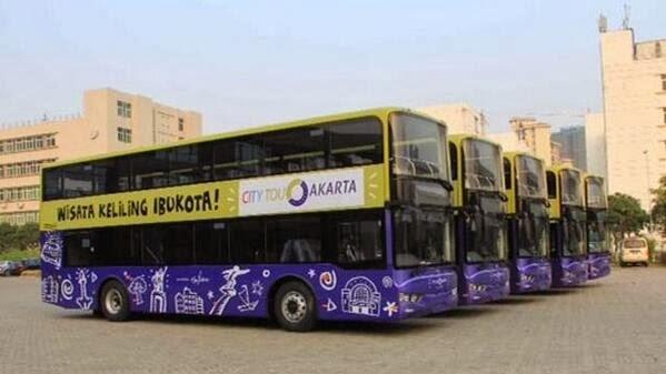 Bus Tingkat Wisata Jakarta