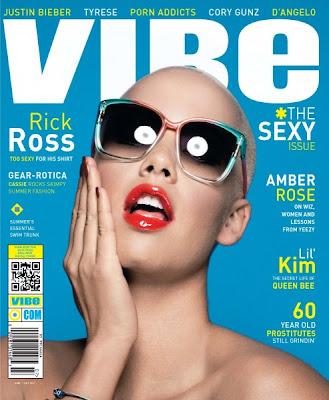 amber%2Bvibe >Amber Rose & Rick Ross en couv' de Vibe