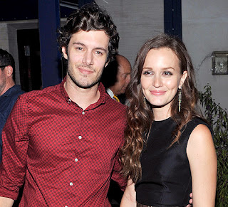 Leighton Meester With Her Boyfriend Adam Brody Both Together In These Images Gallery In 2013.
