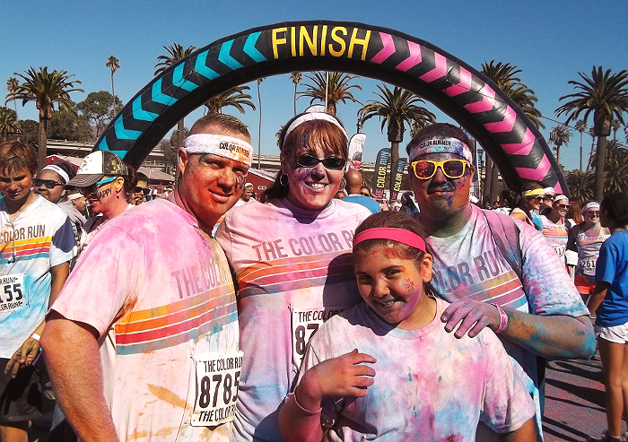 The Color Run Ventura 2013