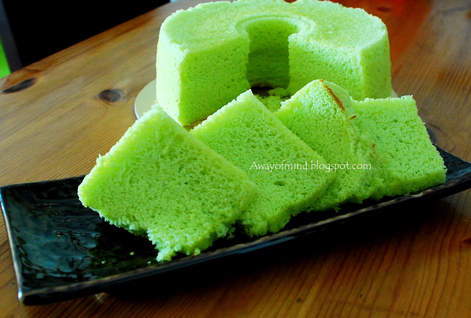 Awayofmind Bakery House: Pandan Chiffon Cake
