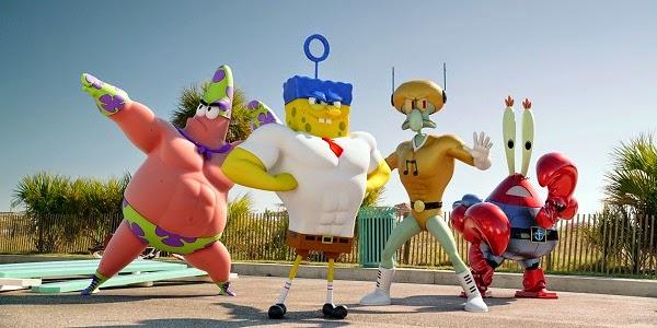 BOB ESPONJA: UM HERÓI FORA D'ÁGUA (The SpongeBob Movie: Sponge Out of Water)