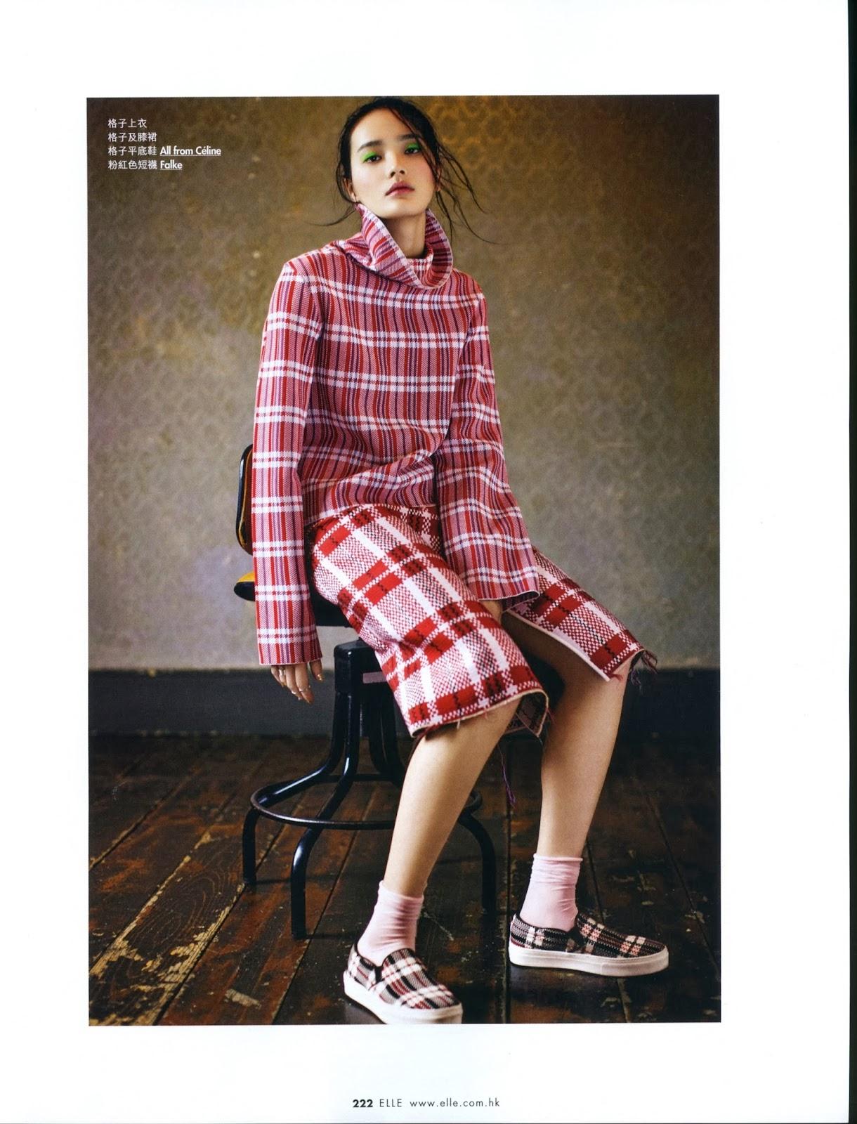 Magazine Photoshoot : Li Wei Photoshot For Elle Magazine Hong Kong February 2014 Issue