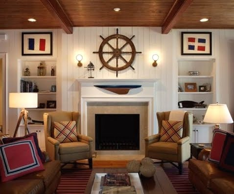 nautical fireplace