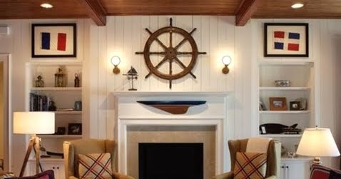 12 Fireplaces for People who Love the Sea - Completely Coastal