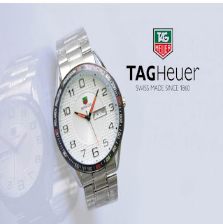 jam tangan keren TAGHEUER TH-MP4 SILVER WHITE