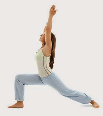 Warrior Yoga Pose for Toning Muscles