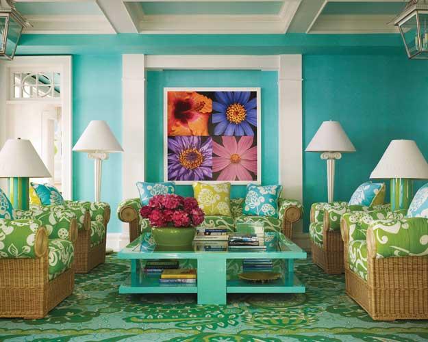 decoracao de interiores universidade:Lessandra Dottori – Arquitetura e Interiores: Azul Turquesa