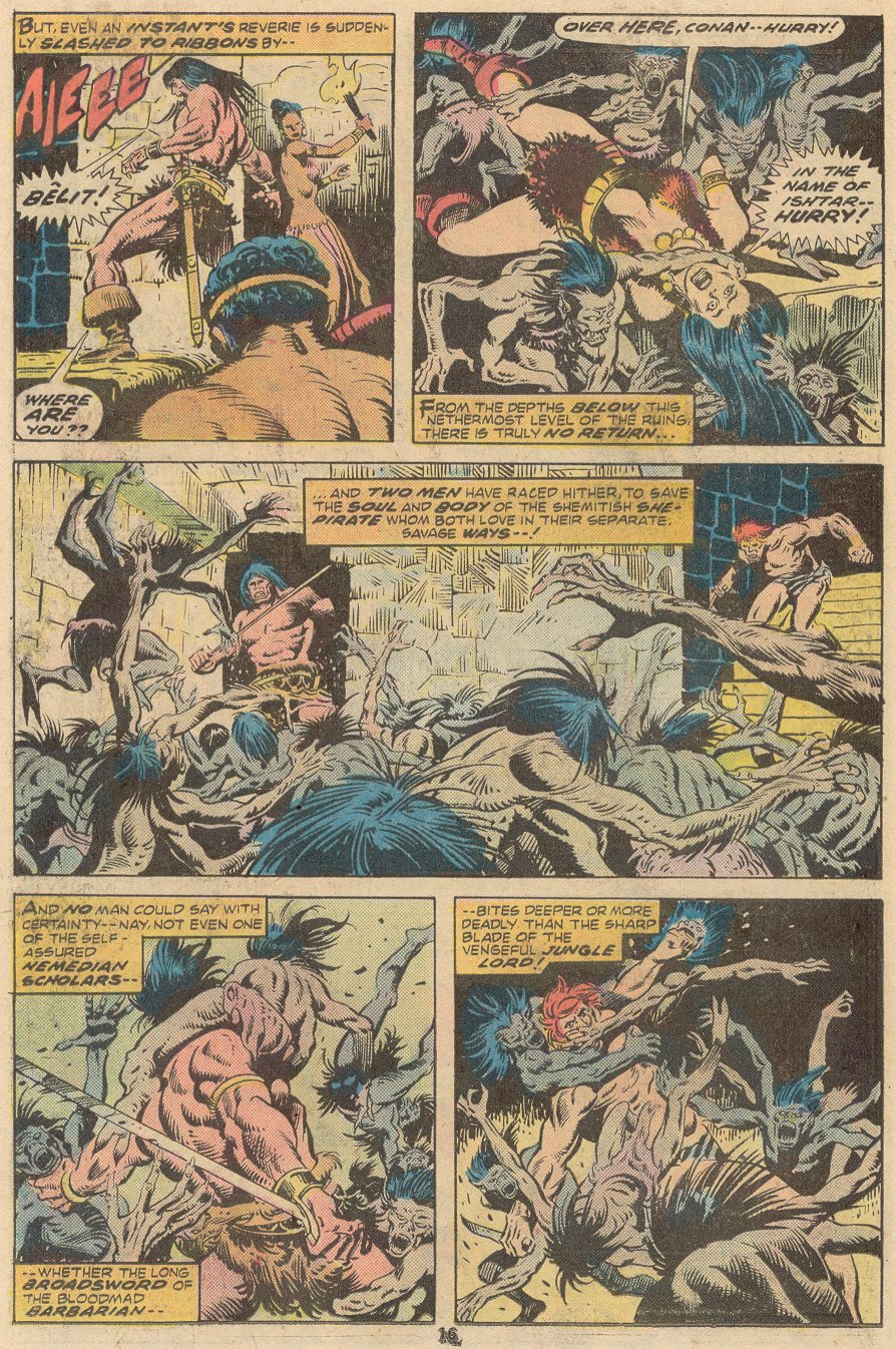 Conan the Barbarian (1970) Issue #63 #75 - English 11