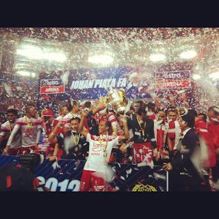 Perlawanan Sime Darby vs JDT Liga Super 2015