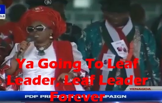 patience jonathan bayelsa rally video