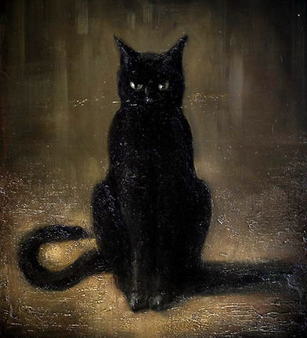 Cuentos m gicos el gato negro edgar allan poe - El gato negro decoracion ...