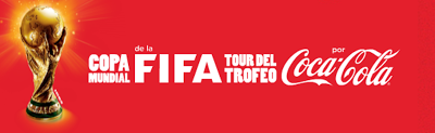 FIFA World Cup Trophy Tour 2014 Brasil Coca Cola