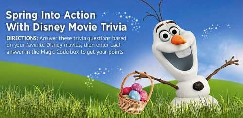 Disney Movie Rewards Olaf Free Spring