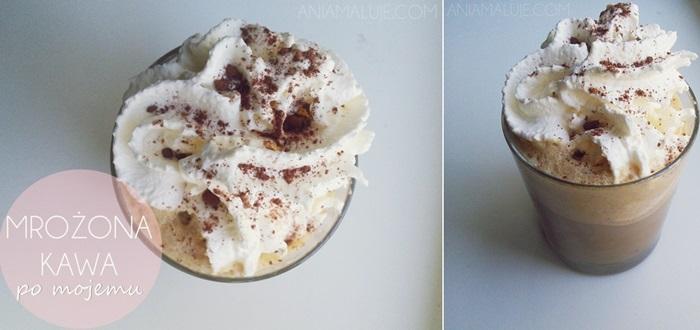 przepis na kawę mrożoną z lodami, kawa mrożona z lodami ;)