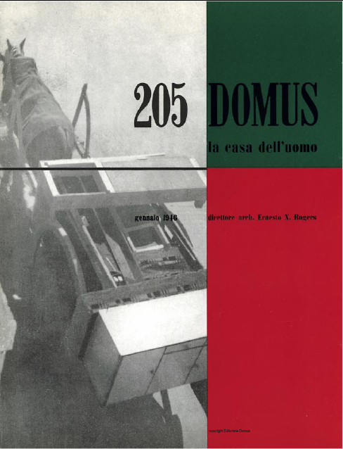 Domus 1946 n 205 ini bukan blog arsitektural for Domus book collection