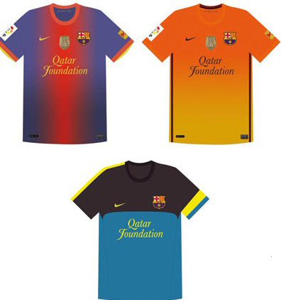 Barcelona New Jerseys 2012-2013