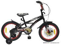 Sepeda Anak Wimcycle Arrow (Police) MY2011 16 Inci