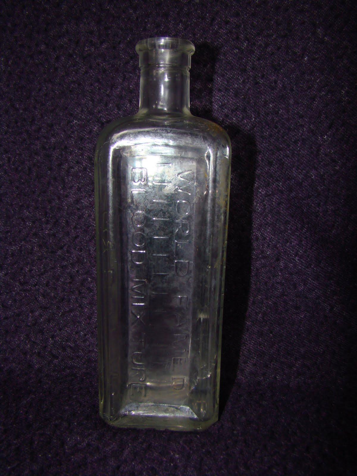 dust off the bottle  clarke u0026 39 s world famed blood mixture lincoln bottle