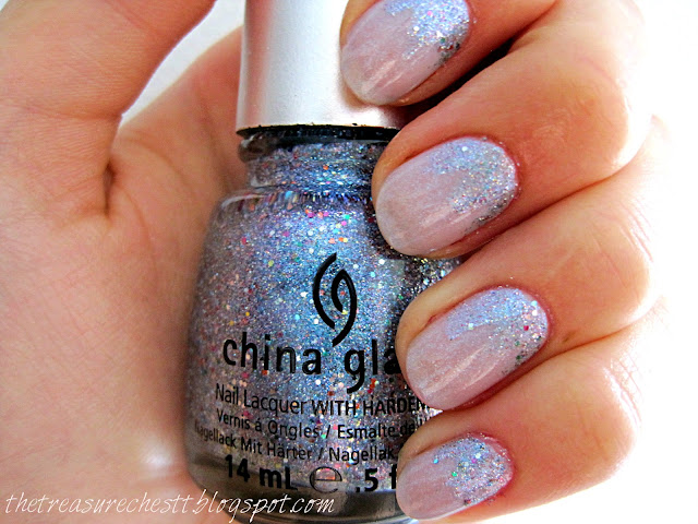 snow queen china glaze liquid crystal mi-ny inverted glitter manicure nails