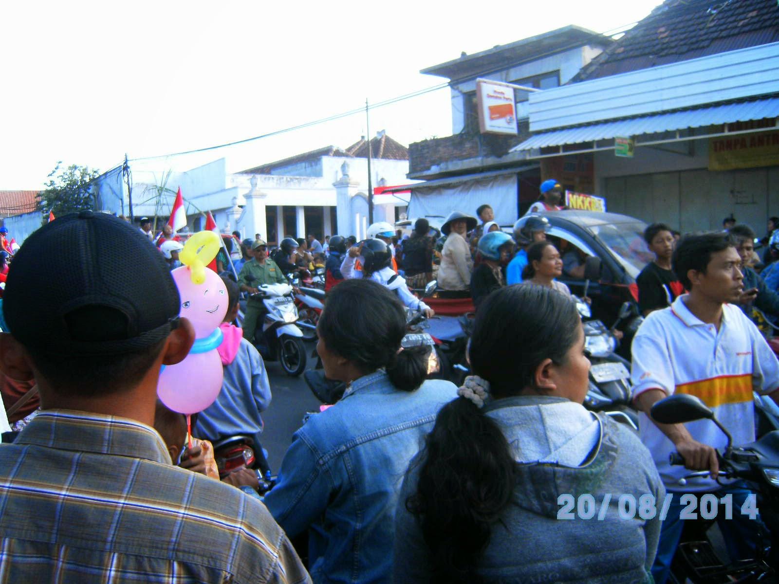 Pawai Karnaval Pedan Klaten