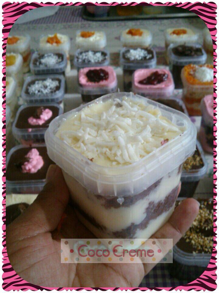 Well-known Creme Ninho de Coco para Bolo no Pote | Creative BC44