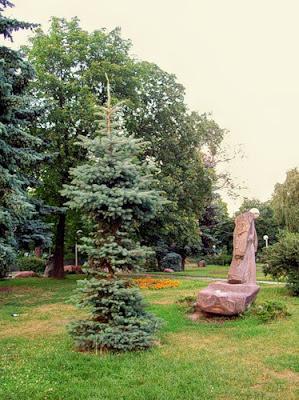 Участок парка на Владимирской горке
