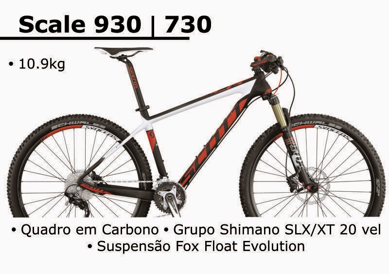 Bicicleta Scott Scale 930 730 2015