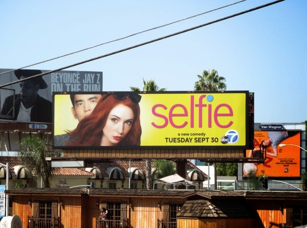 Selfie series launch billboard