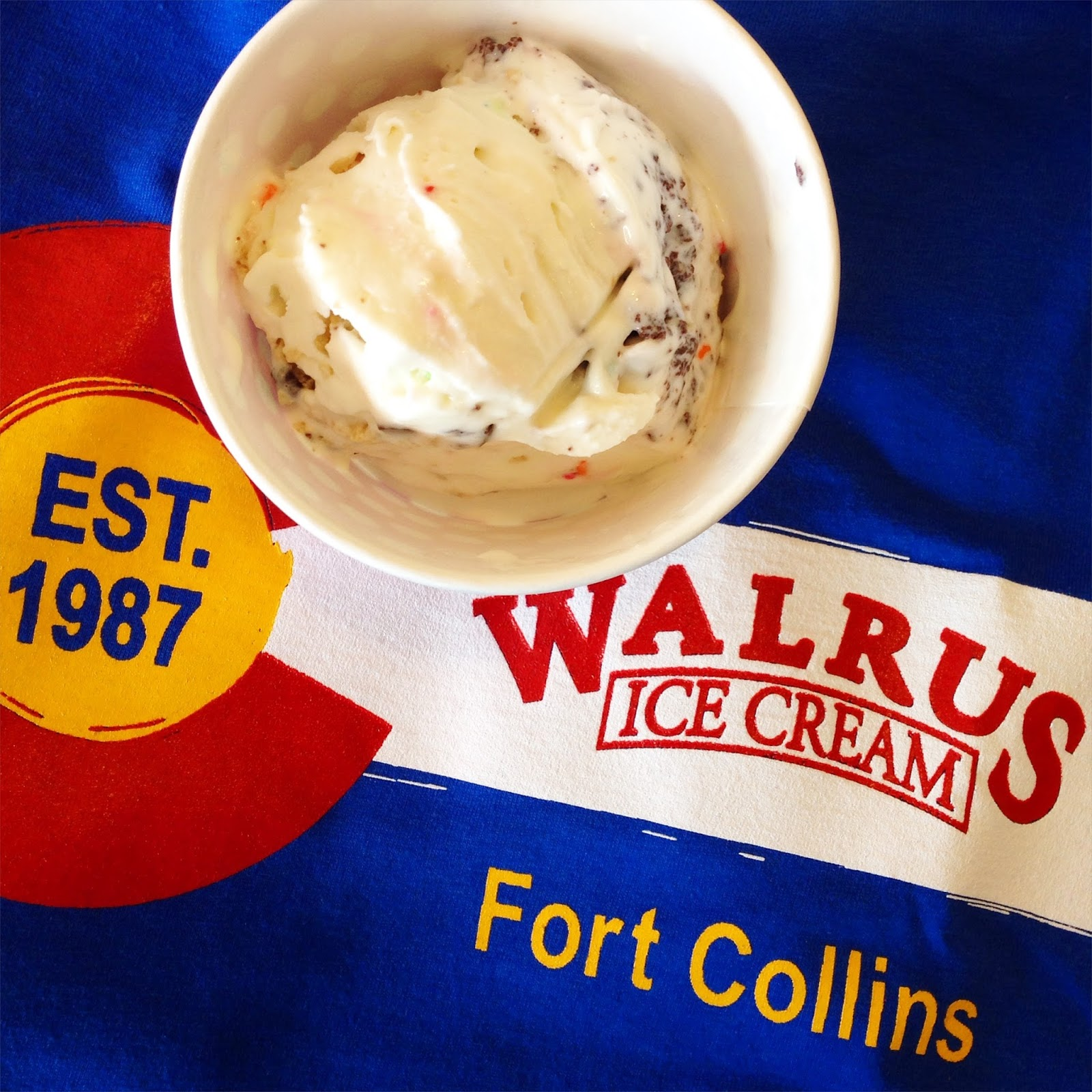 Wyoming Road Trip, Fort Collins Colorado, Old Town Fort Collins, Walrus Ice Cream