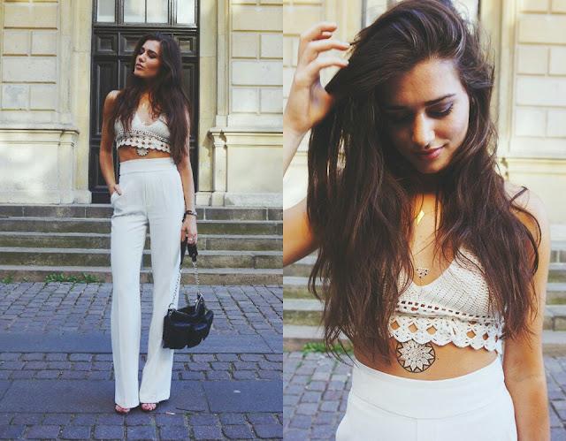 TREND: Široké nohavice/ Wide trousers