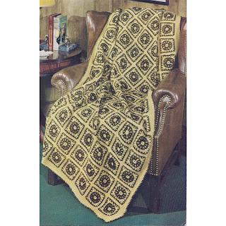 Vintage Turkish Delight Crochet Afghan Pattern