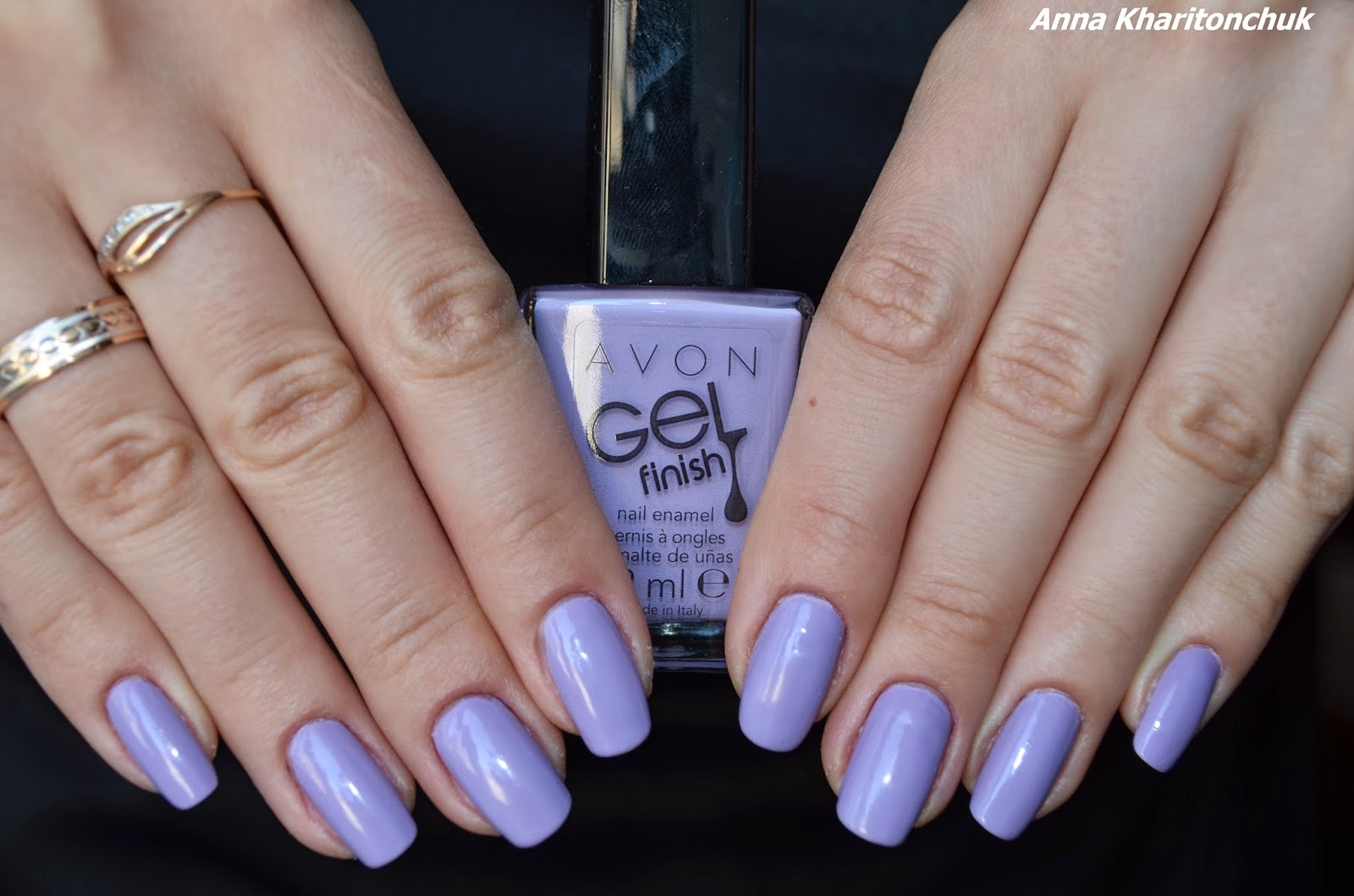 Avon Gel Finish Lavander Sky