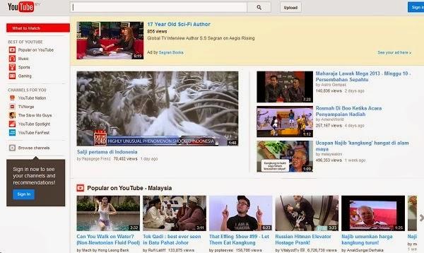 lelaki Hilang 6 Tahun Ditemui Dalam YouTube