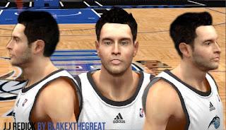 NBA 2K13 Cyber Face J. J. Redick