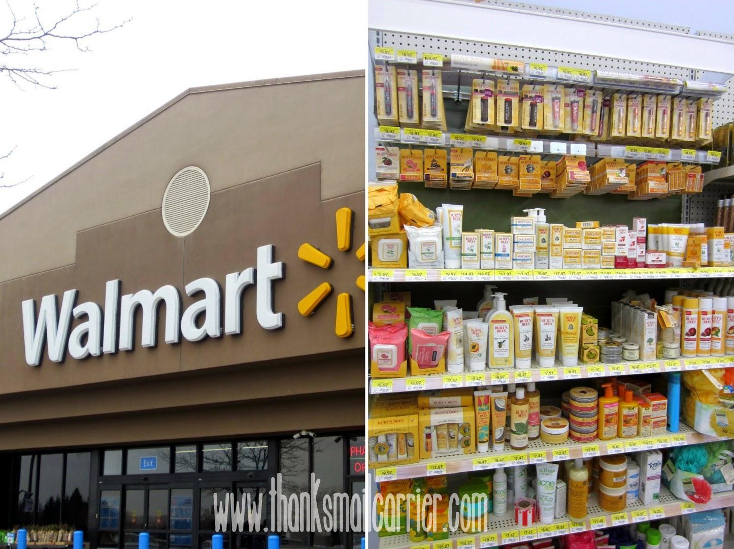 Burt's Bees at Walmart