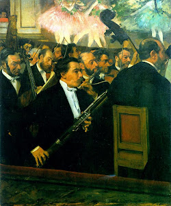 The Orchestra of the Opera (1870) By Edgar Degas