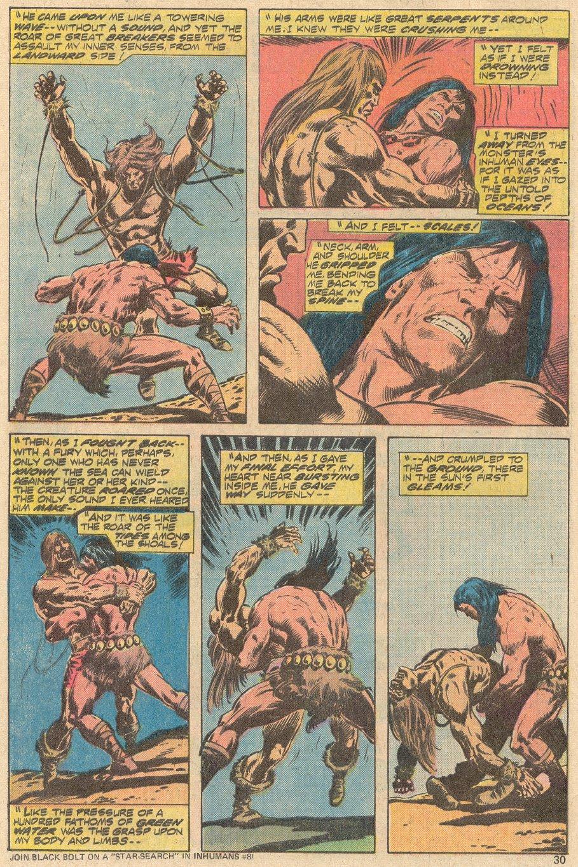 Conan the Barbarian (1970) Issue #69 #81 - English 20