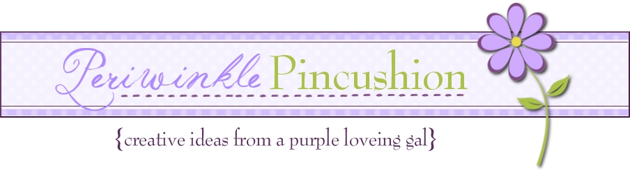 Periwinkle Pincushion